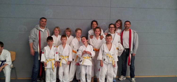 JSV Judoka auf der Kreiseinzelmeisterschaft in Welver