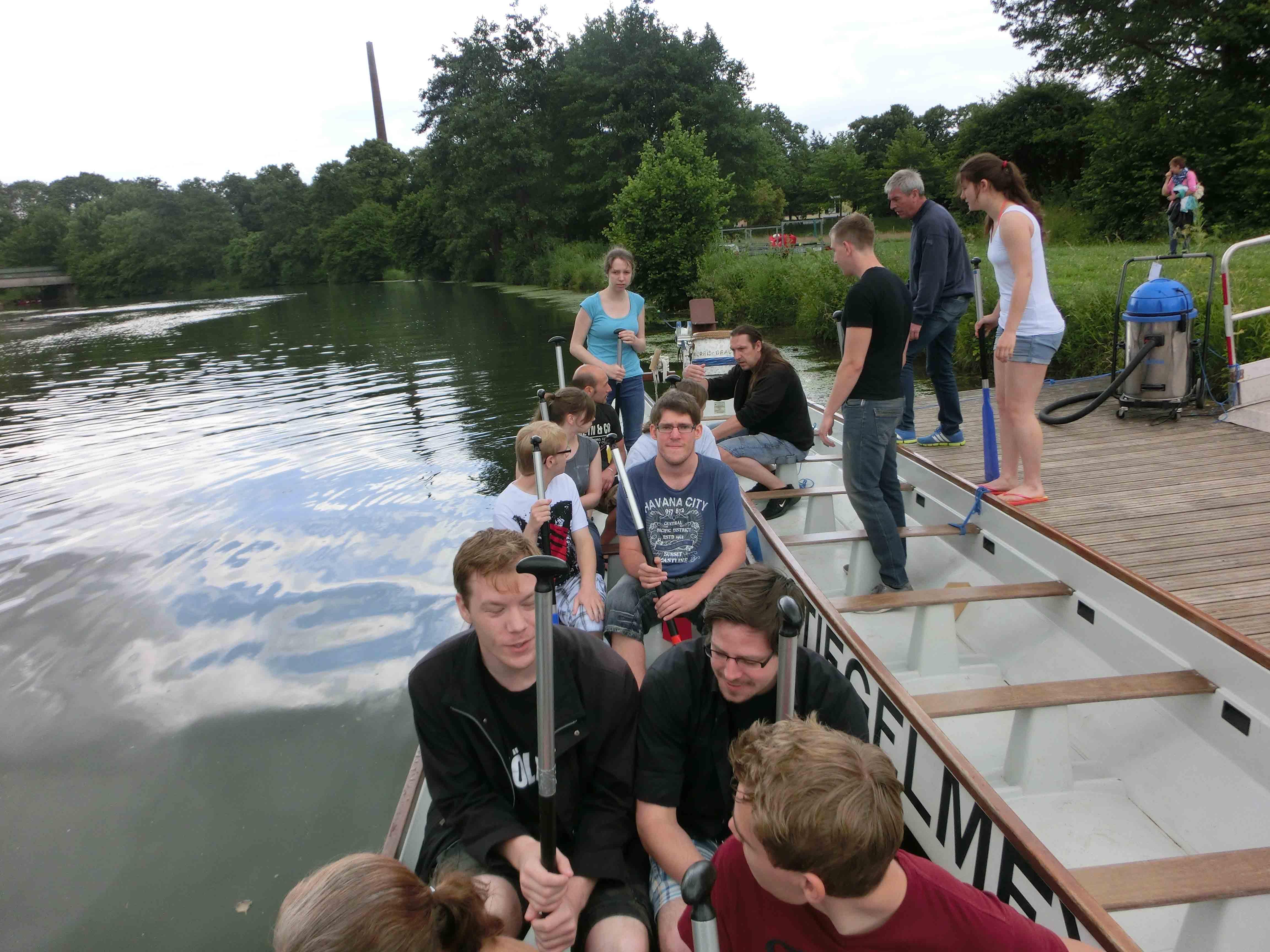 Der JSV nimmt am ersten Drachenbootrennen teil