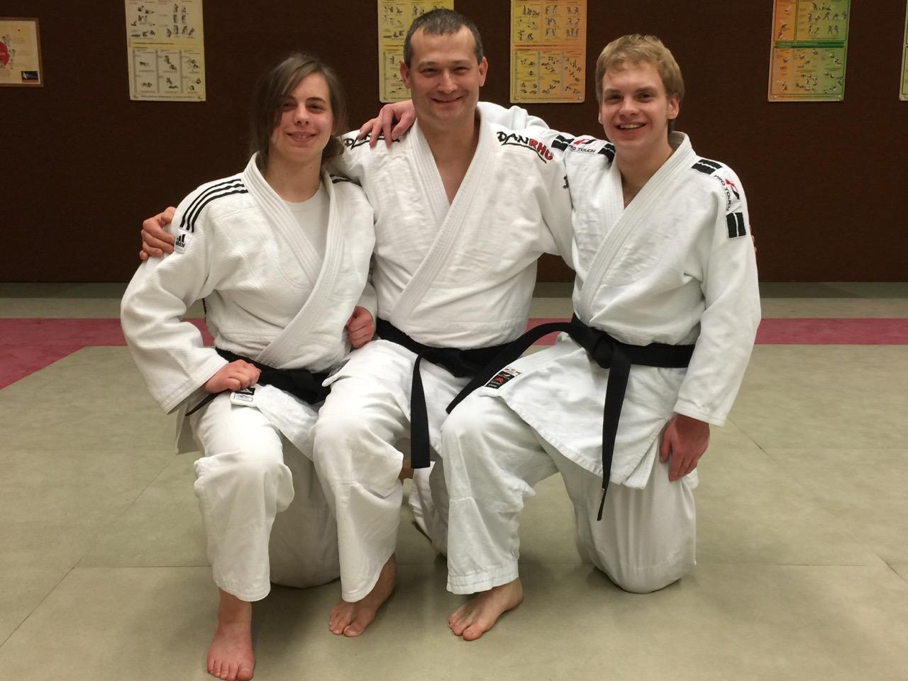 Endlich Meister in Judo