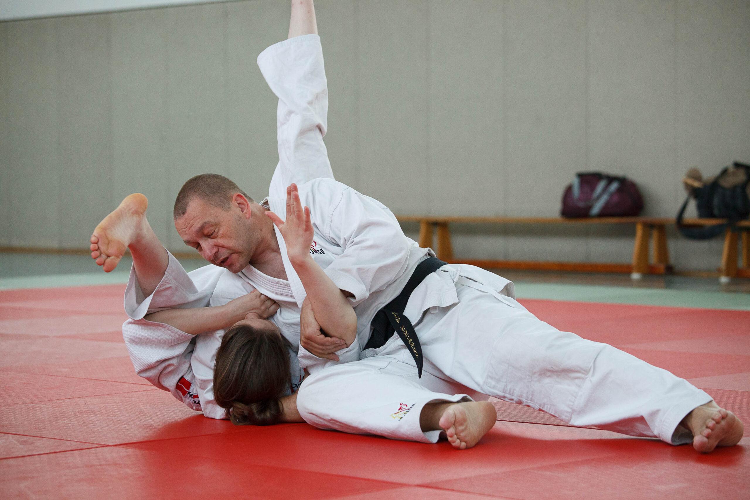 Ju-Jutsu Training mit Ralf Krämer 4. Dan