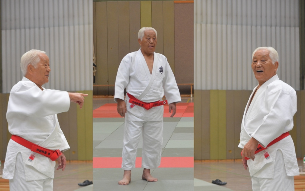 Lippstädter-Judo lernen von Shiro Yamamoto Sensei, 9. Dan