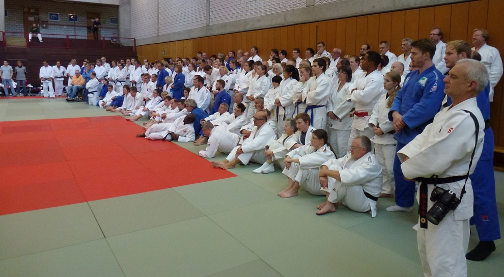 Internationale Judo-Fortbildung in Tübingen