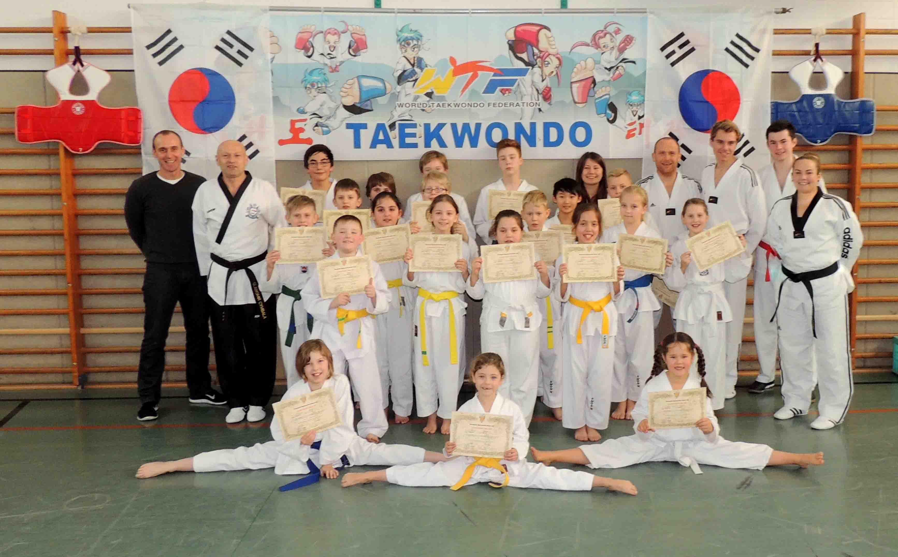 Taekwondo-Kup-Prüfung des JSV
