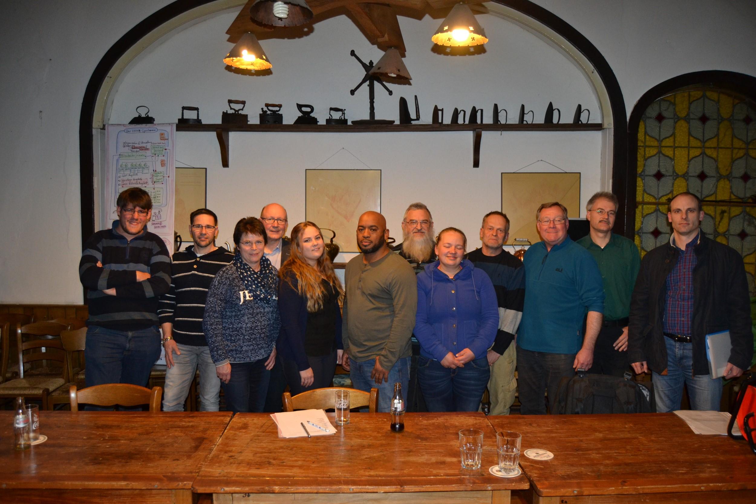 Jahreshauptversammlung 2016 des Judo Sportverein Lippstadt e.V. Stehende Ovationen für das Gründungsmitglied Hubert Nieuwdorp