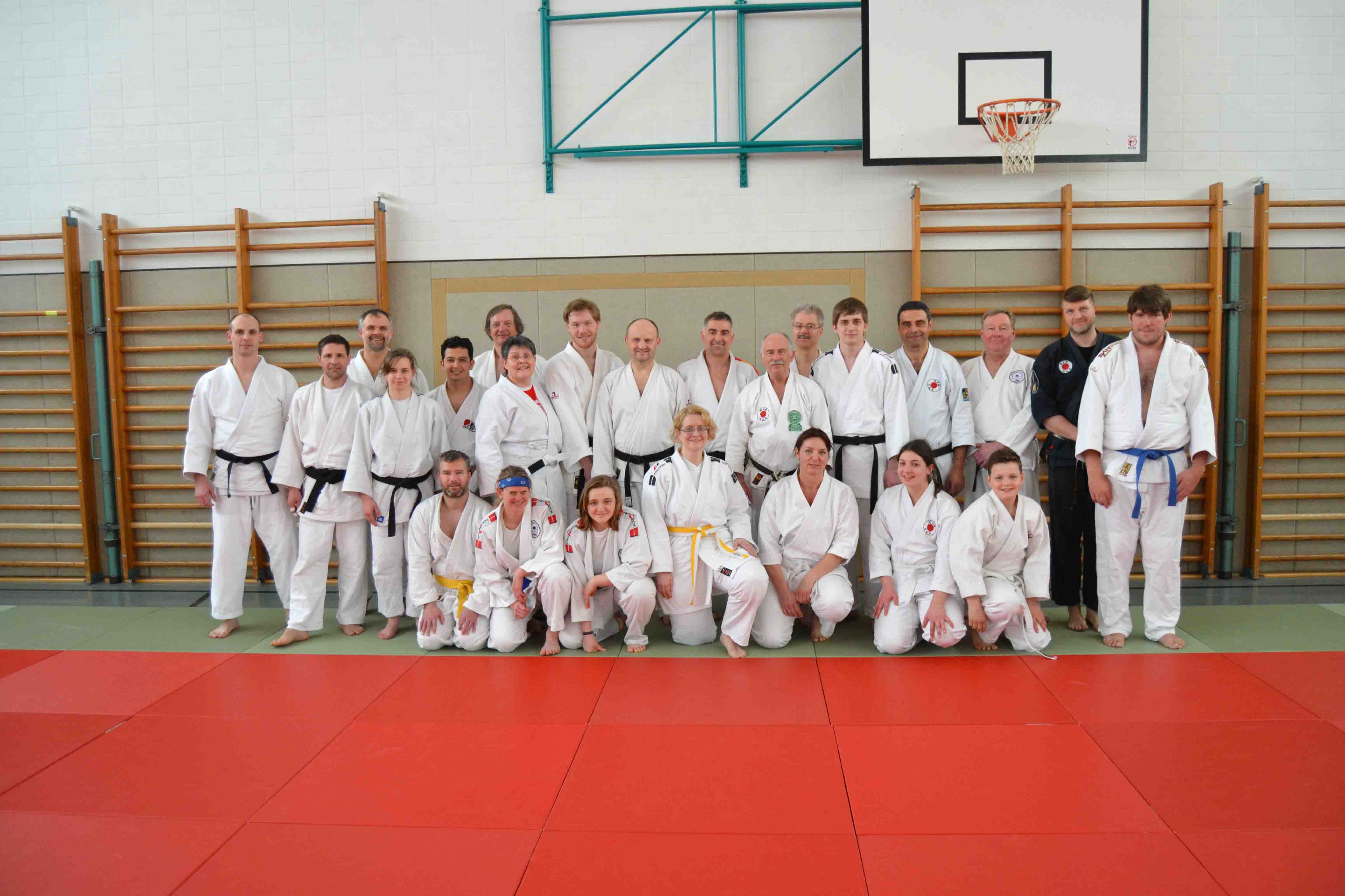 Lehrgang für Selbstverteidigung beim Judo Sportverein Lippstadt e.V.