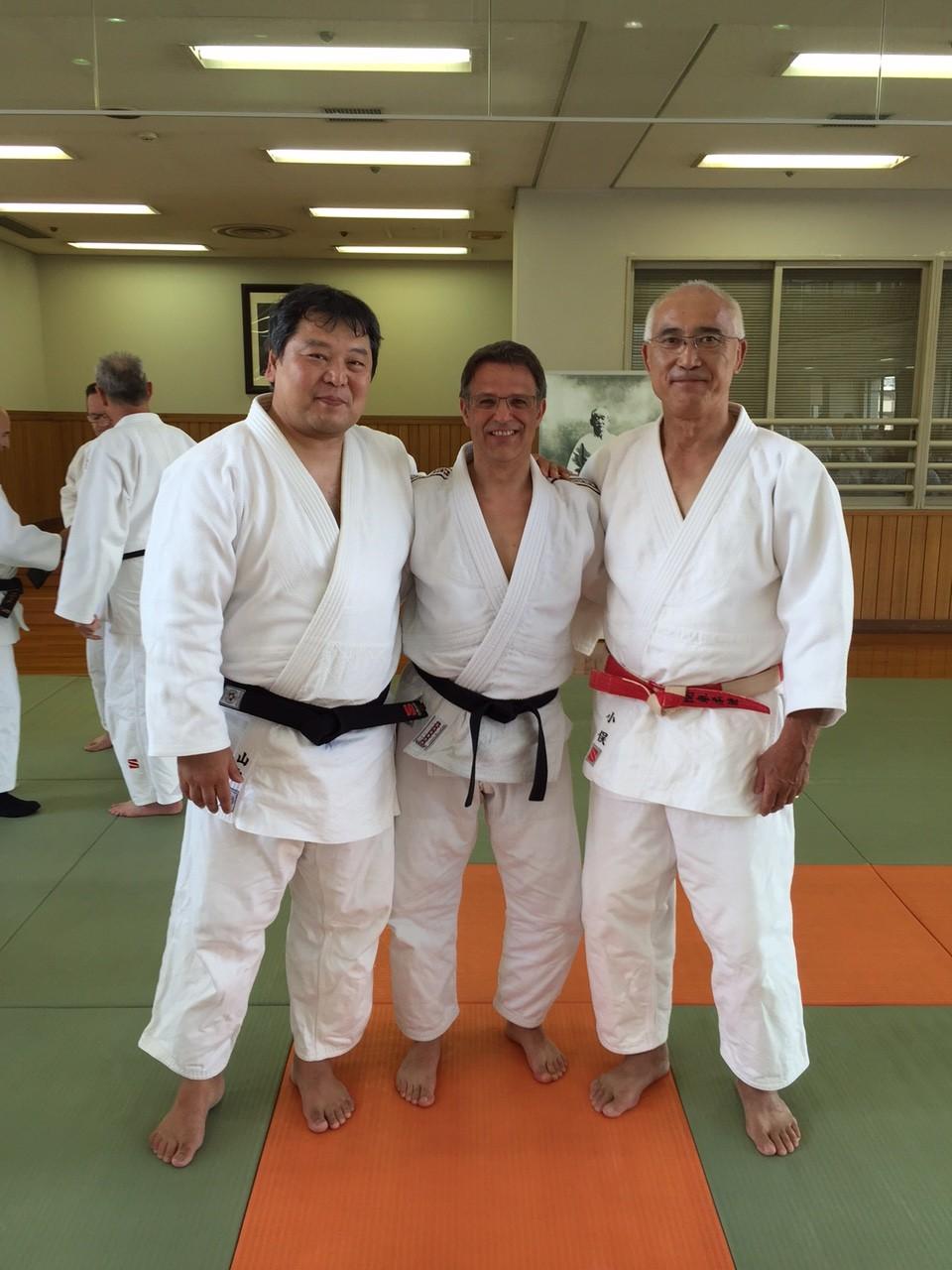 Judo Trainer Josef Pereira befindet sich zur Zeit in Japan
