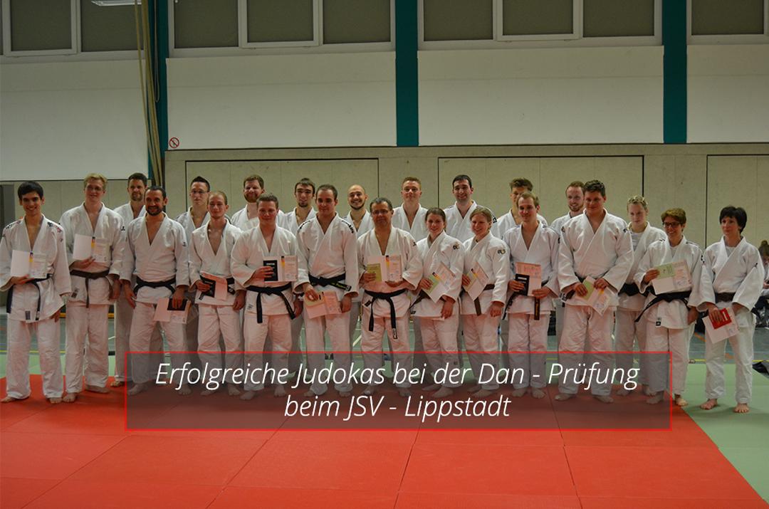 Judoka machen DAN-Prüfung in Lippstadt