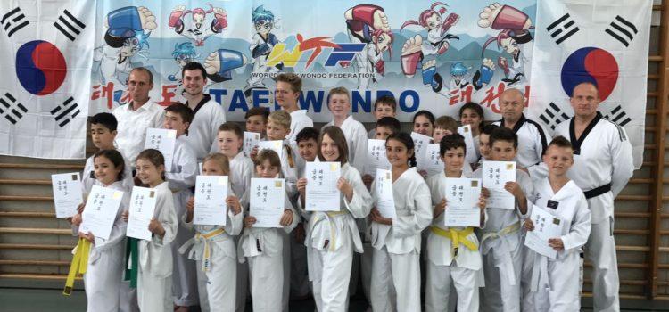 Taekwondo-Kup-Prüfung des JSV Lippstadt e.V.