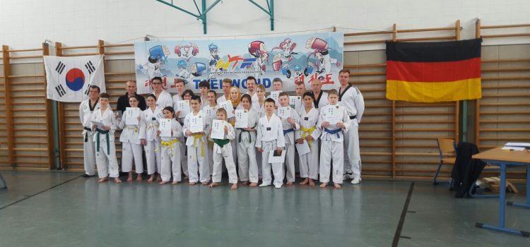 Erste Taekwondo-Prüfung des Jahres