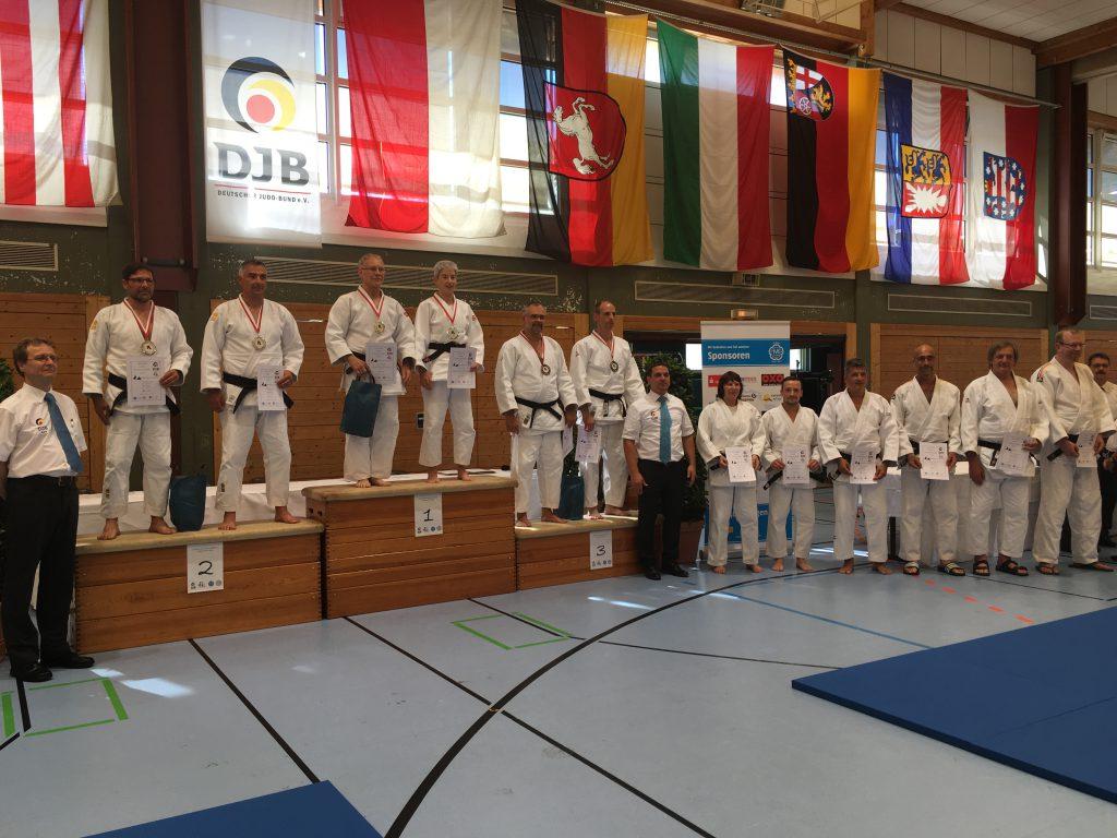 Siegerehrung der deutschen Kata-Meisterschaft