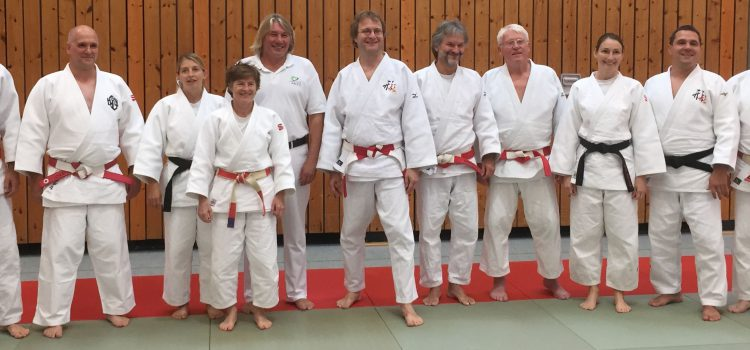 Internationale Judofortbildung – Tübingen